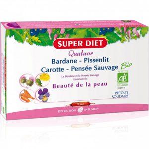 SUPER DIET – Bardane – Pissenlit Carotte-Pensée Sauvage 20×15 ml