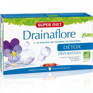 SUPER DIET – Drainaflore DÉTOX 20×15 ml